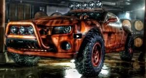 bootlegger off road 2010 camaro build
