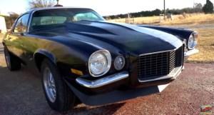 1970 chevy camaro rs