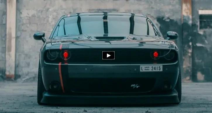 "Dodge Challenger Mods >> Sick 2015 Dodge ""Inferno"" Challenger Custom Job | HOT CARS"