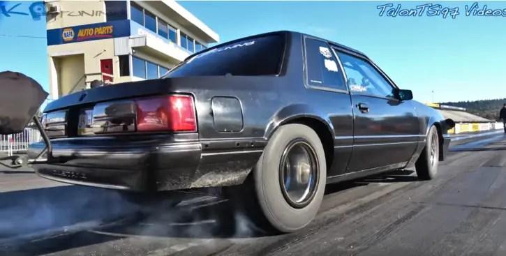 kp tuning turbo ford mustang drag racing