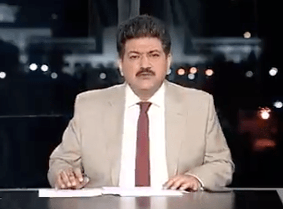 Pakistani journalist, Hamid Mir, off air after comments about the military