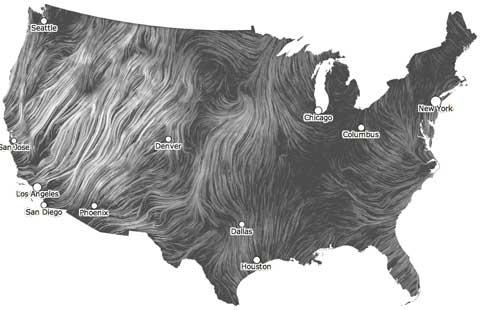 Windmap