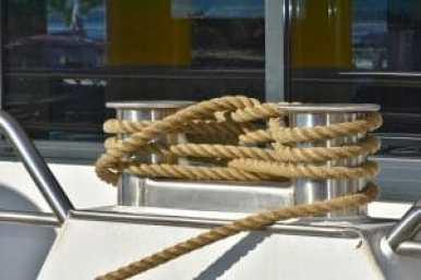 hemp rope ship