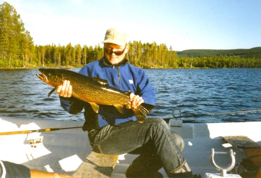 Fiske i Rörvattnet-Skogsjö fvo. Foto Maritha Grelsson