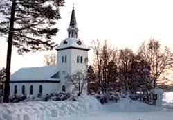 Hotagens kyrka. Foto Hotagenkortet