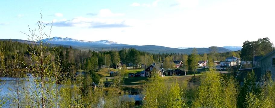 Rötviken mötenas by. Foto Maritha Grelsson