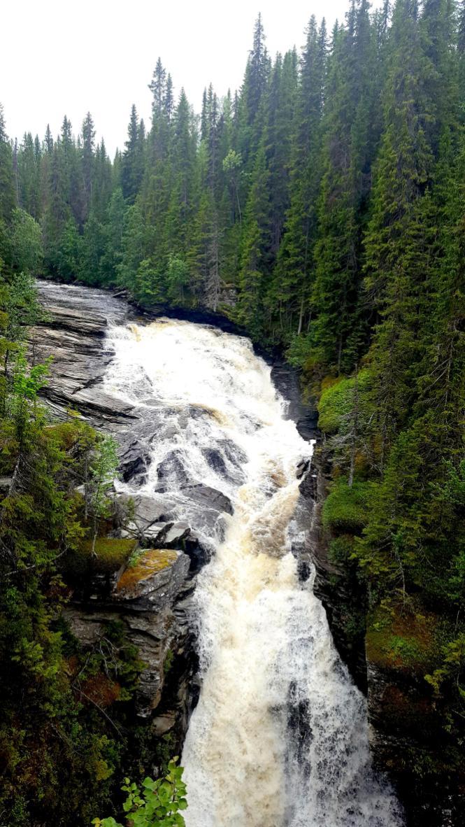 Naturkrafter i Ansättåns kanjon. Foto Linda Ros