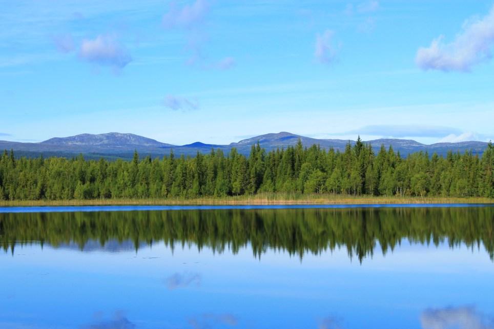 Vackra vyer i Hotagsbygden. Foto Mikael Nyberg