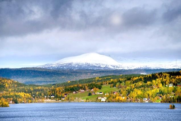 Valsjöbyn. Foto Kristina Nordenmark