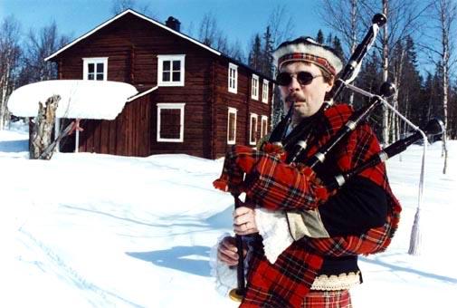 Villa Skottland i Gunnarvattnet. Foto Hotagenkortet