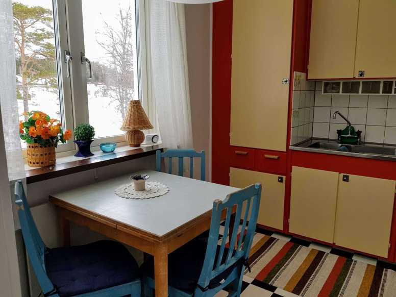 Villa Karin kök 2. Foto Stilla Dagar