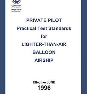 Practical Test Standards – Private Pilot