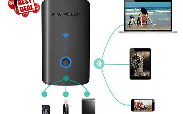 Ravpower wiresles travel router with hot and best deals.