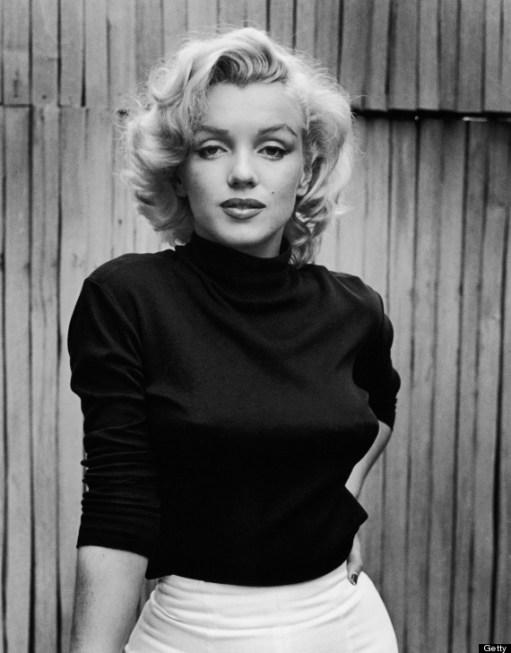 Portrait Of Marilyn Monroe
