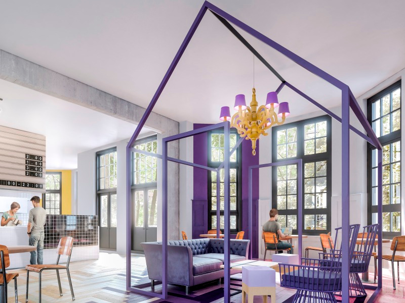 6 Tendencias en Hoteles este 2016 - gen-amsterdam_interior_cafe_final