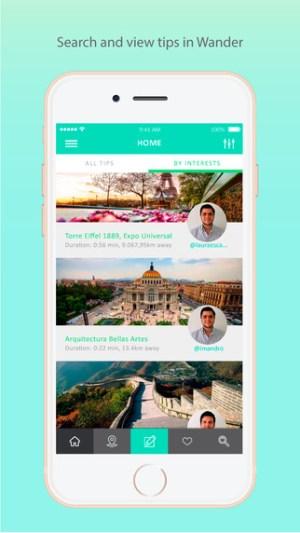 Wander App 2.0: una plataforma turística integral - screen322x572