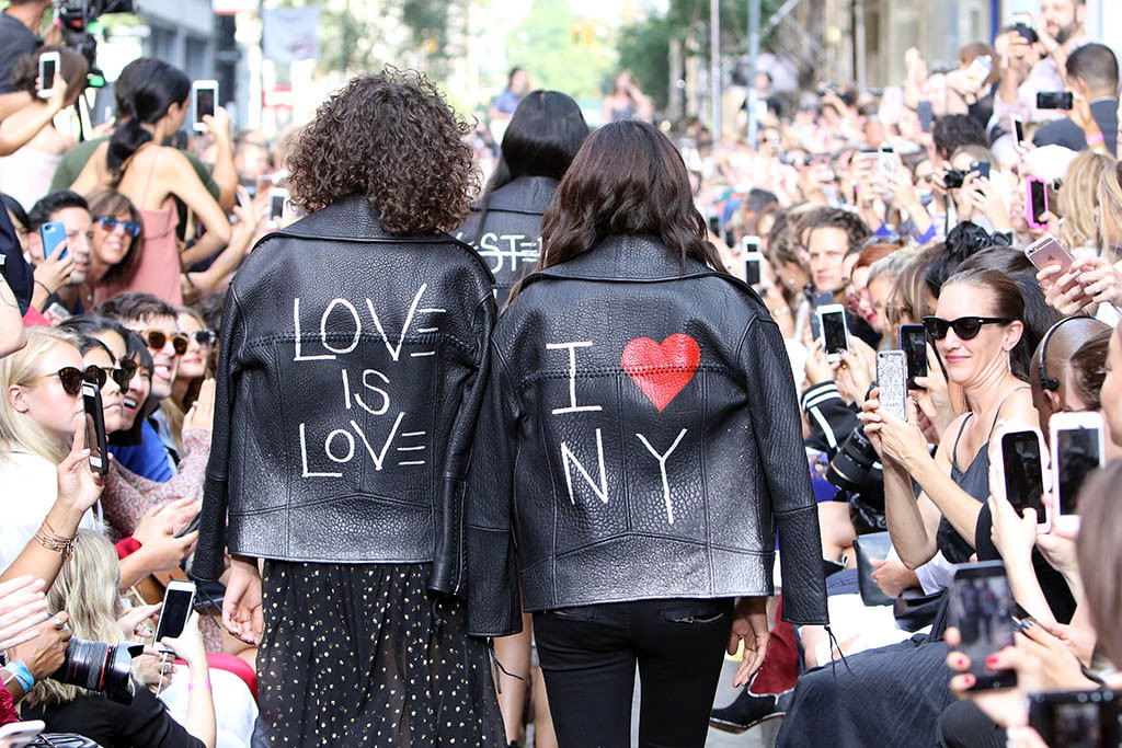 11 Highlights del New York Fashion Week 2016 - Rebecca Minkoff show, Runway, Spring Summer 2017, New York Fashion Week, USA - 10 Sep 2016