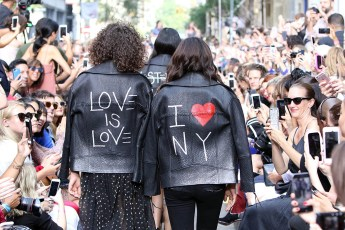 11 Highlights del New York Fashion Week 2016 - Rebecca Minkoff show, Runway, Spring Summer 2017, New York Fashion Week, USA - 10 Sep 2016