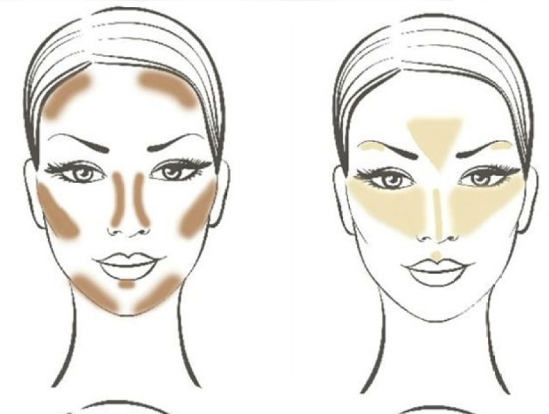 10 PASOS PARA UN CONTOUR PERFECTO - highlighting-contouring-hacks-tips-tricks-how-to-guide-picturesw