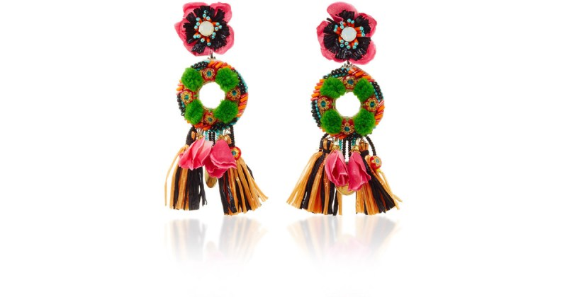 8 prendas MUST para esta temporada  - ranjana-khan-multi-fringed-floral-drop-earrings-multicolor-product-0-653951498-normal