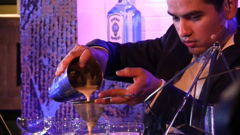 Final del Concurso Most Imaginative Bartender - fran-10