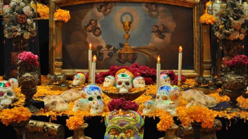 Lugares para conmemorar el Día de Muertos - ofrenda-dia-de-muertos