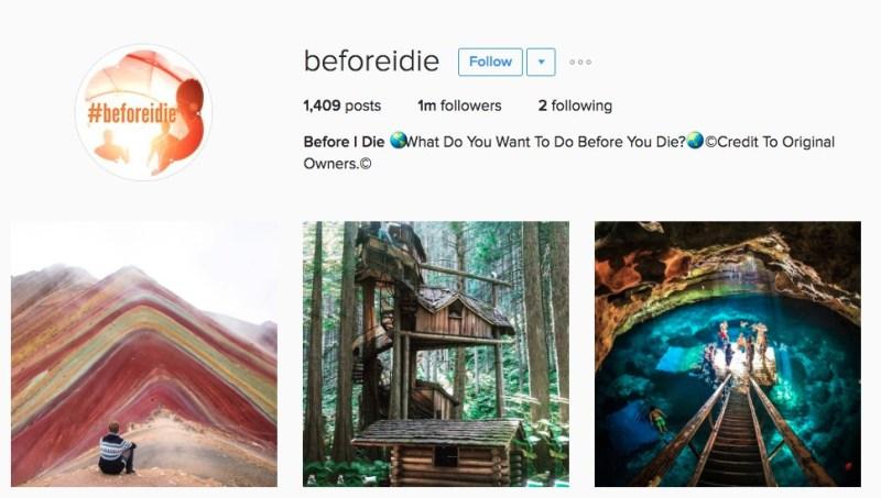 6 cuentas de Instagram que tienes que seguir - before