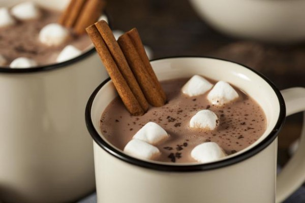 Resultado de imagen para chocolate caliente con marshmallow