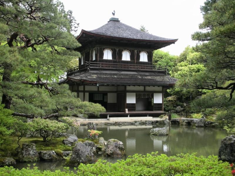 Kioto: Labios Rojos, Sol Naciente - ginkakuji-min