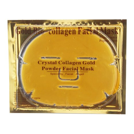 10 productos saludables para una vida wellness - gold-collagen-mask