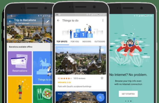 7 apps que facilitarán la planeación de tus viajes - google-trips
