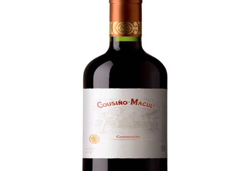 Conoce todo lo que tienes que saber sobre el vino chileno - 3.-vino-tinto-carmenere-cousino-macul