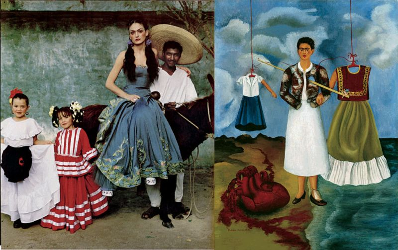 Frida: La Moda Como el Arte de Ser, un increíble libro de Frida Kahlo.