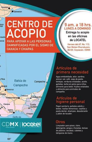 ¿Cómo ayudar a las víctimas del temblor del pasado 7 de septiembre en México? - coyoacan
