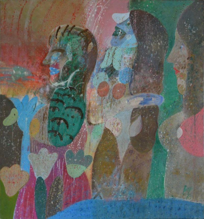 """El Grupo de los Dieciséis presenta el 37 aniversario de su venta de arte """"Denos una mano"""" - roger-von-gunten-1"""