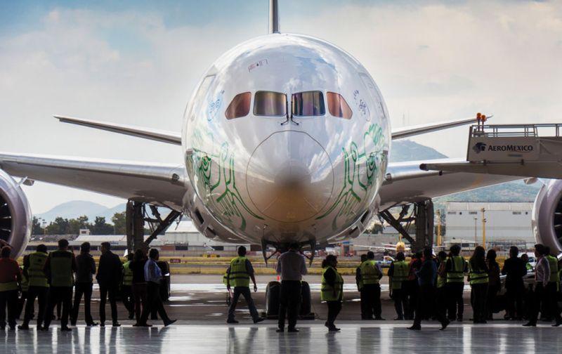 Mundo Premier en el Boeing 787-9: DREAMLINER - boeing-787-9-dreamliner-aeromexico-5