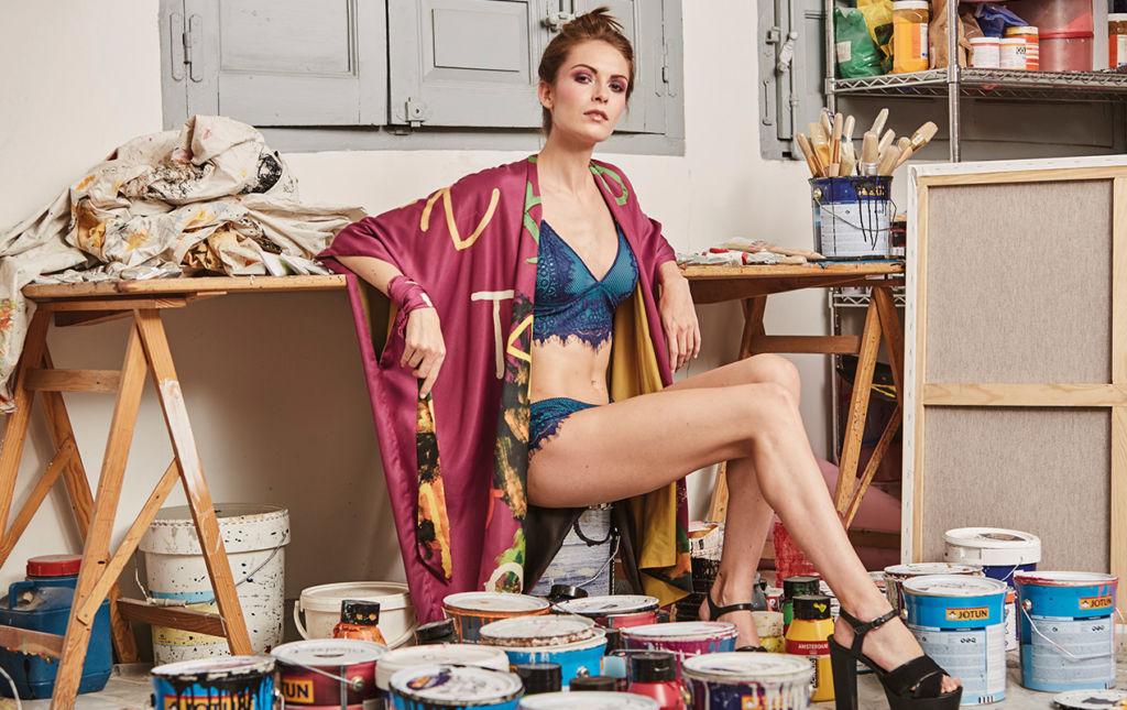 Arena Martínez, cuando el arte y la moda se encontraron - ARENA MARTÍNEZ-1