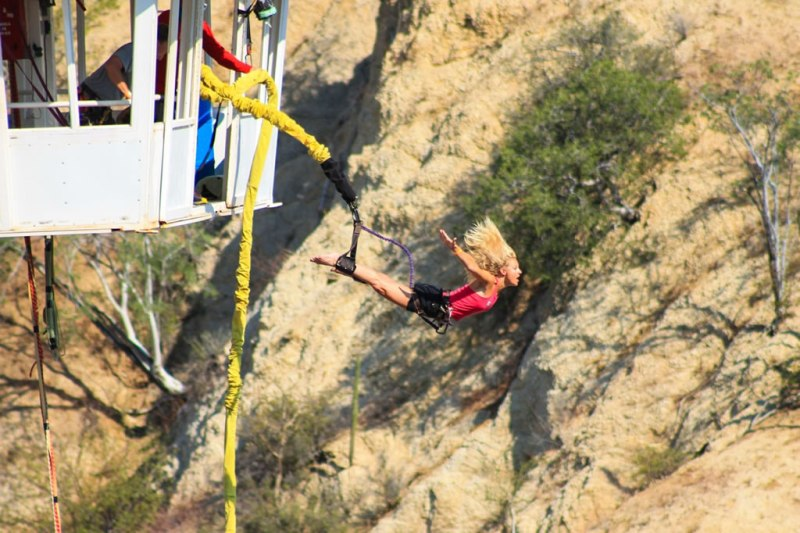 Las 10 actividades más extremas que puedes realizar en México - Actividades-extremas-bungee