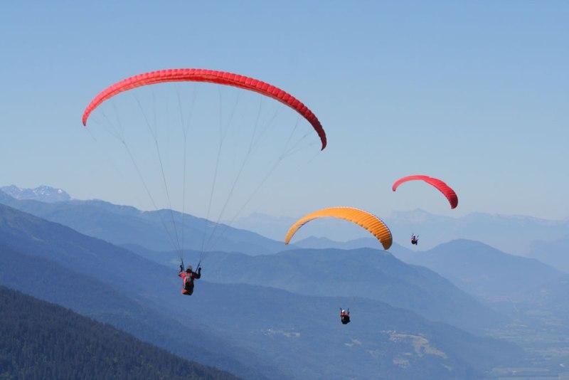 Las 10 actividades más extremas que puedes realizar en México - Actividades-extremas-parapente