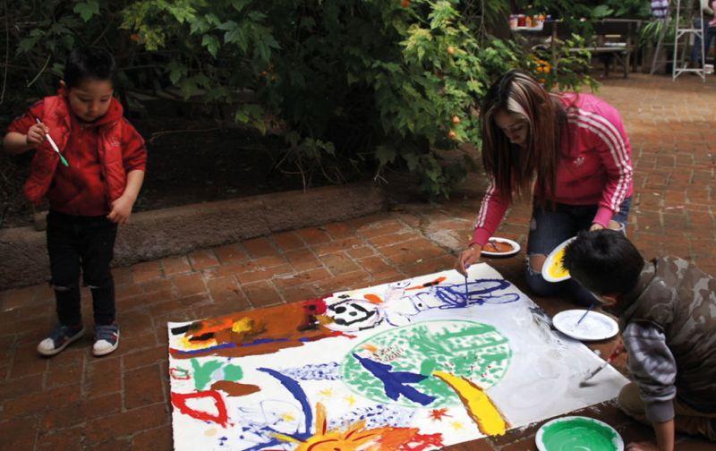 Emiliano Gironella, Arte que Cicatriza - Emiliano-Gironella-niños-pintando
