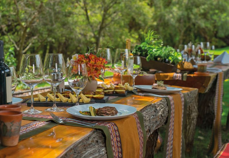 Tambo del Inka Resort - resort_farm_table_food