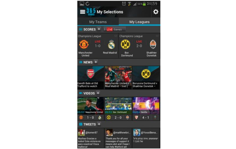 HOTapps Sport - 365-scores