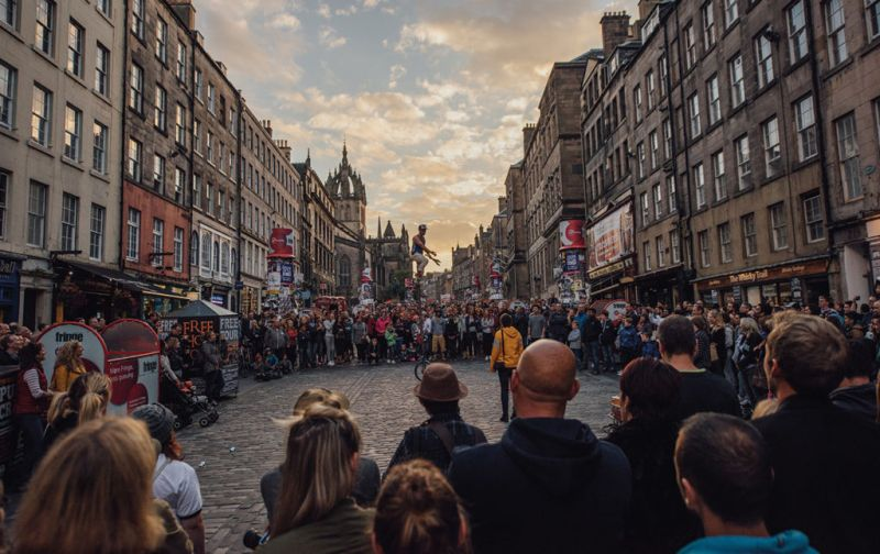 Edimburgo, 70 años de alta y baja cultura - Centro-Edimburgo-portada