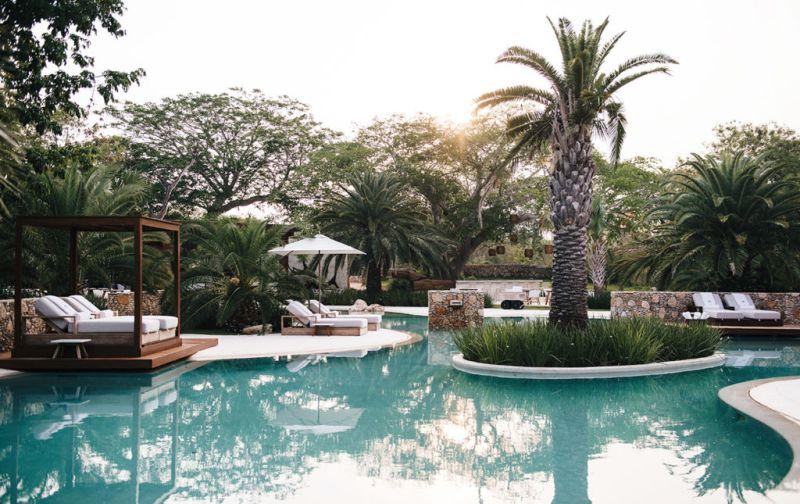 Hotel Chablé, la nueva joya en Yucatán. - Chablé-pool