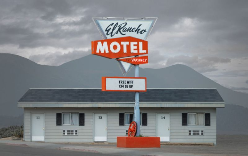 HOTphoto: Ed Freeman - Ed-Freeman-El-Rancho-Motel-Ely-Nevada