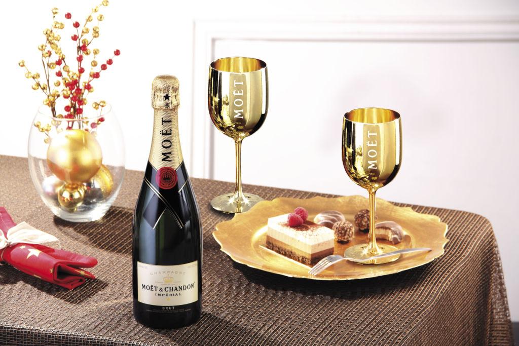 ¿Cómo combinar platillos de Navidad con tus bebidas favoritas? - cena maridaje navidad - 4. Moet[1] portada