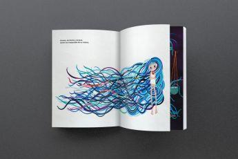 Exposición de arte y presentación del libro Ixchel y su melena - 3. Ixchel y su Melana
