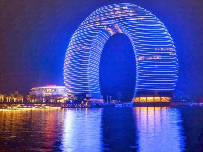 Las estructuras arquitectónicas más cool del mundo - 4.-Sheraton-huzhou