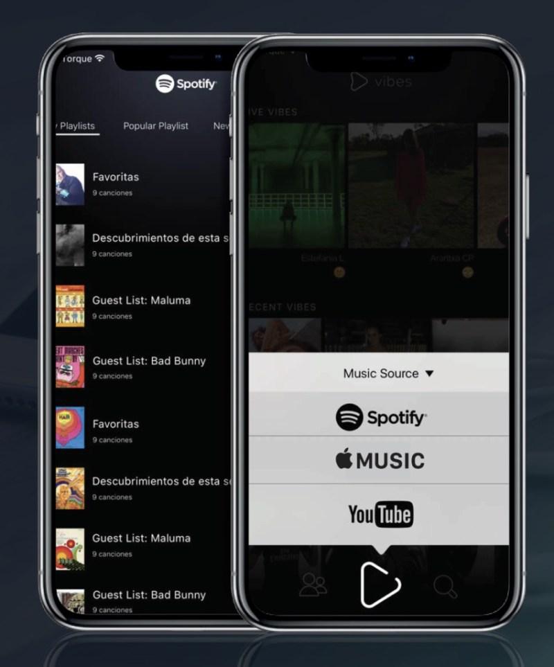 Vibes, interacción a partir de la música - App-Vibes-2