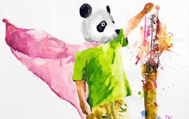 The Strange: Manuel Flores Kuri - panda